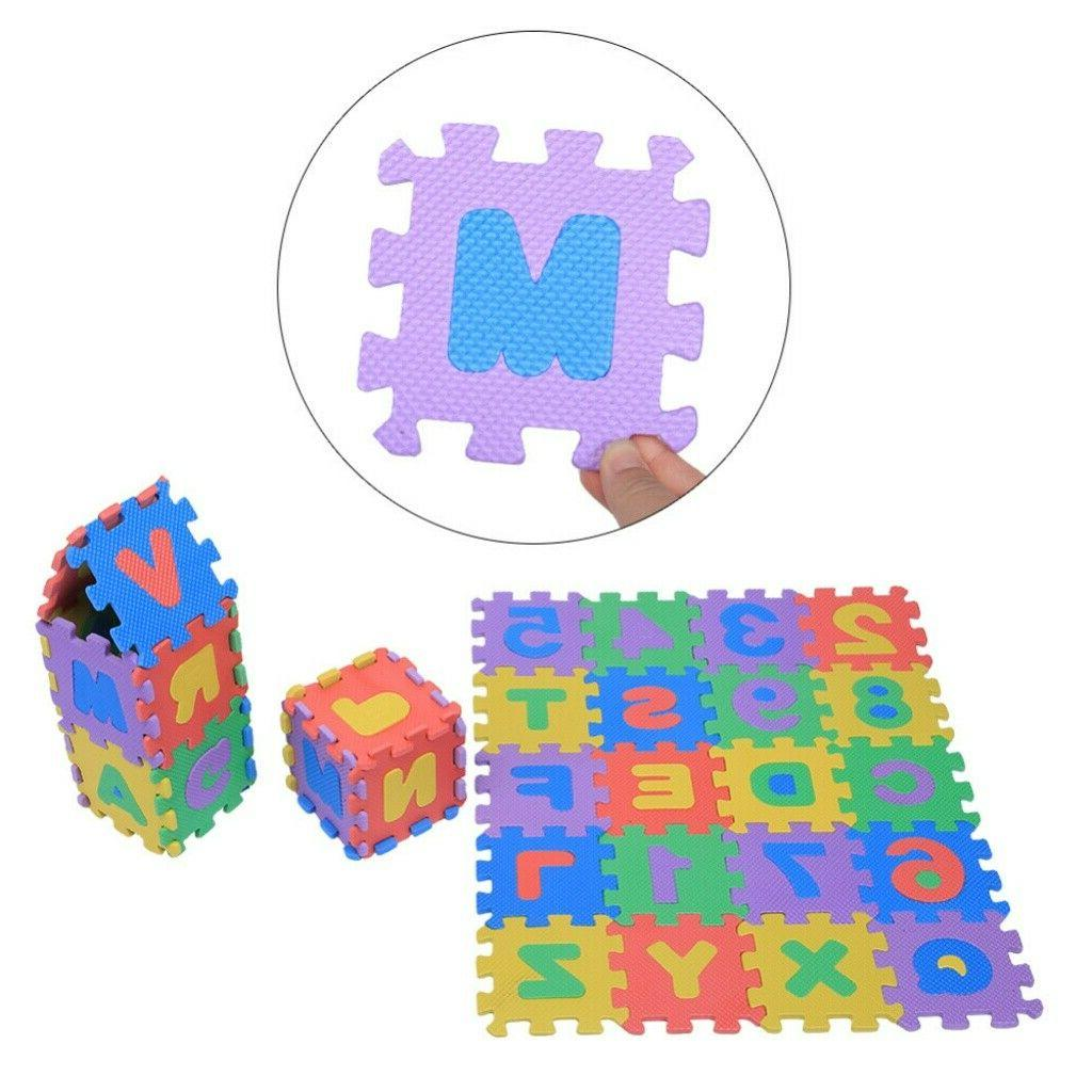 Numbers Letters Baby Kids Crawling