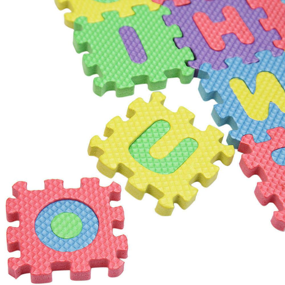 36pcs/Set Letters Numbers Educational Play Mat