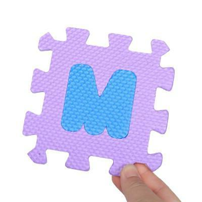 36Pcs Soft Play Letters Pad Toys