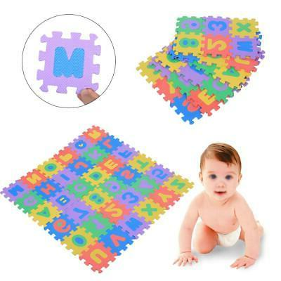 36Pcs Soft Play Mat Letters Kid Playing