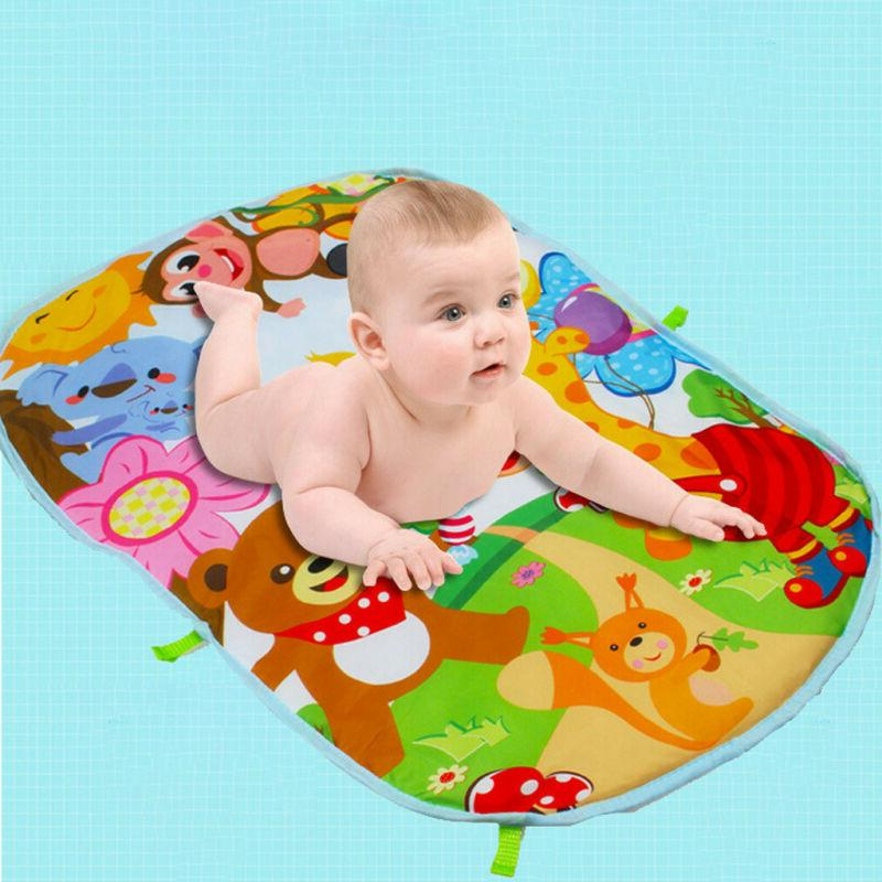 Soft Baby Play Mat Center And Play Piano Toy