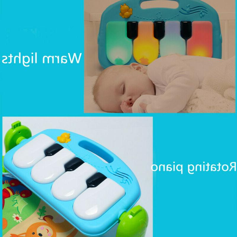 3In1Baby Infant Multifunctional Play Mat With Hanging