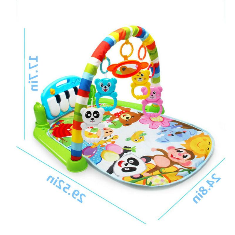 Soft Gym Play Mat Activity Center Piano Toy