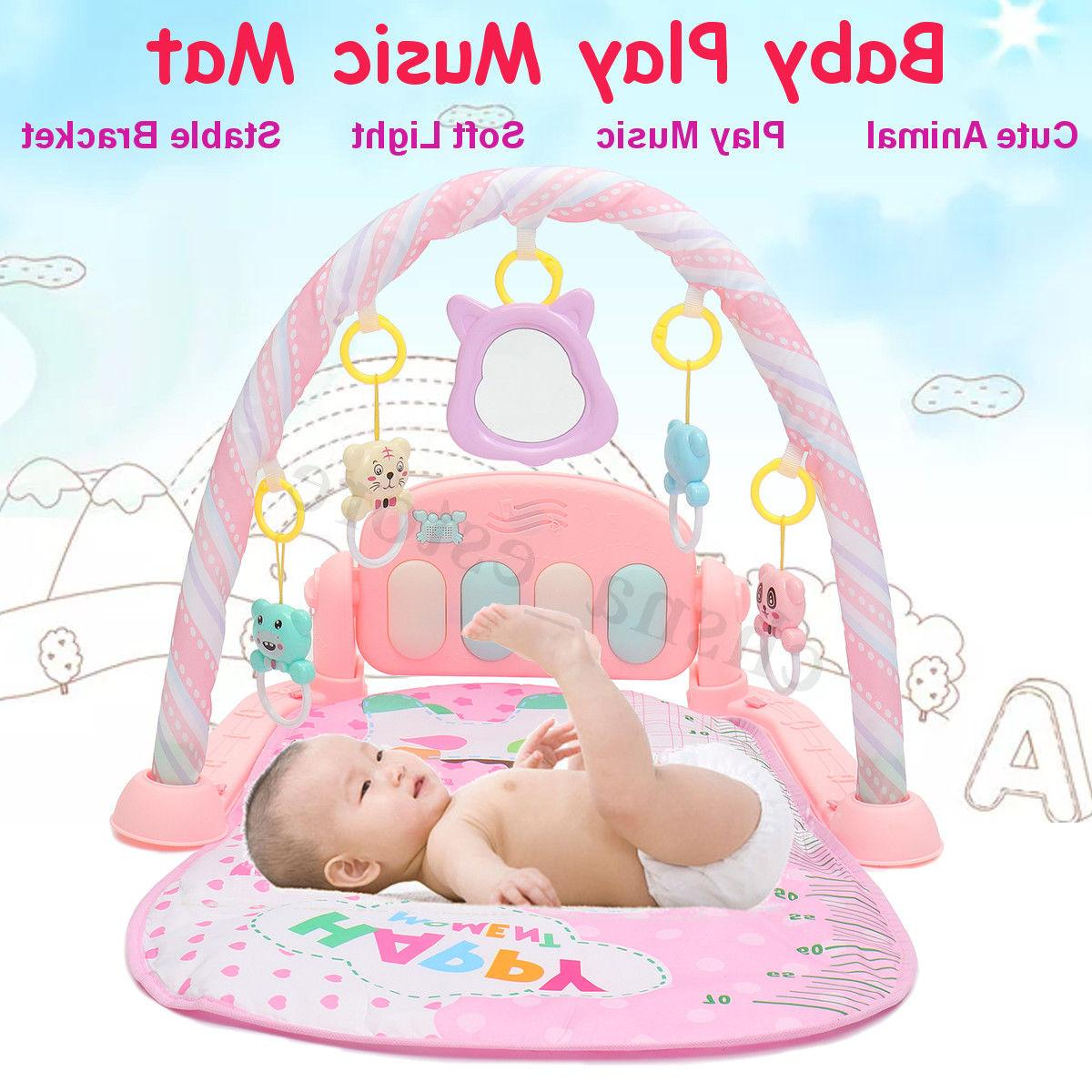 4 in 1 baby light musical gym