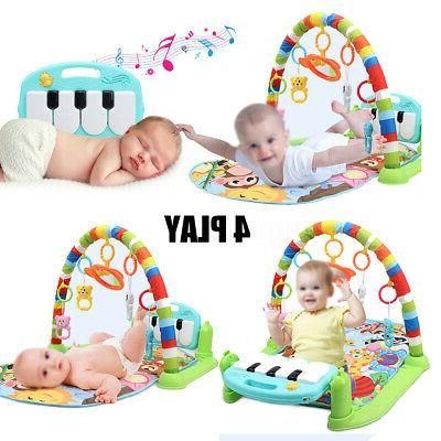 4-In-1 Baby Kid Playmat Activity Fitness Mat