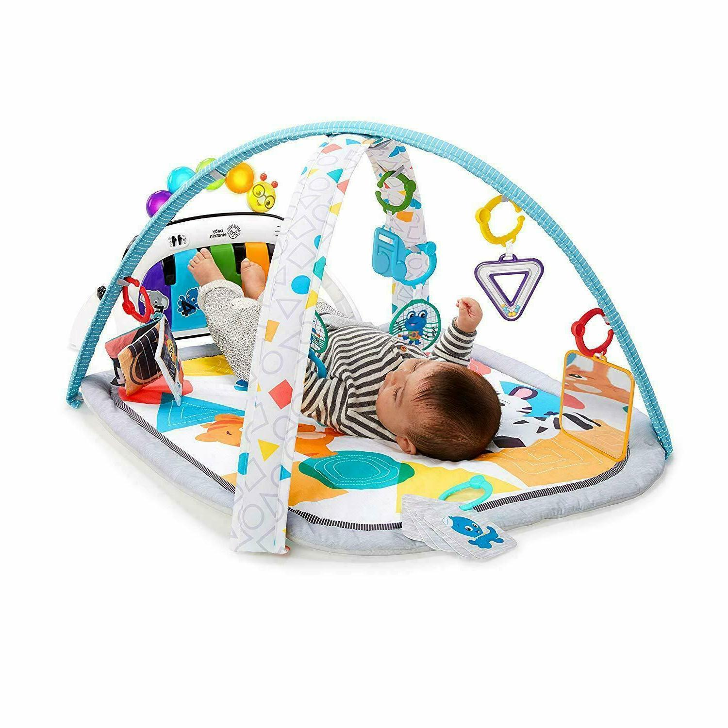Baby Einstein 4-In-1 Tunes Music And Language Discovery Activity Play Gym