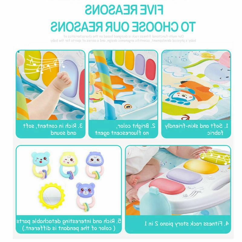 5 In 1 Baby Infant Activity Gym Play