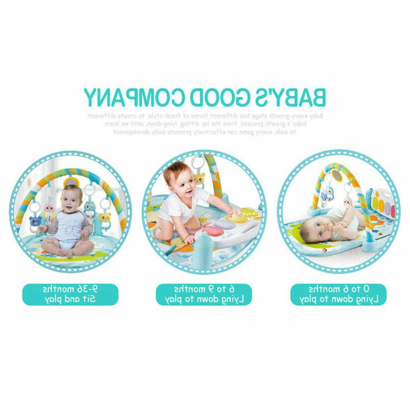 5 In Baby Infant Gym Play Musical Toys US