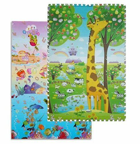 6 pcs colorful puzzle kids baby play