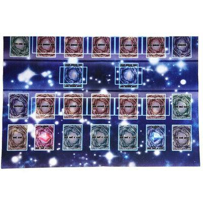 60x60cm Galaxy Competition Mat Playmat Pad Yu-gi-oh Card