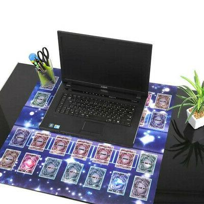 60x60cm Galaxy Style Mat Playmat Rubber Pad For Yu-gi-oh