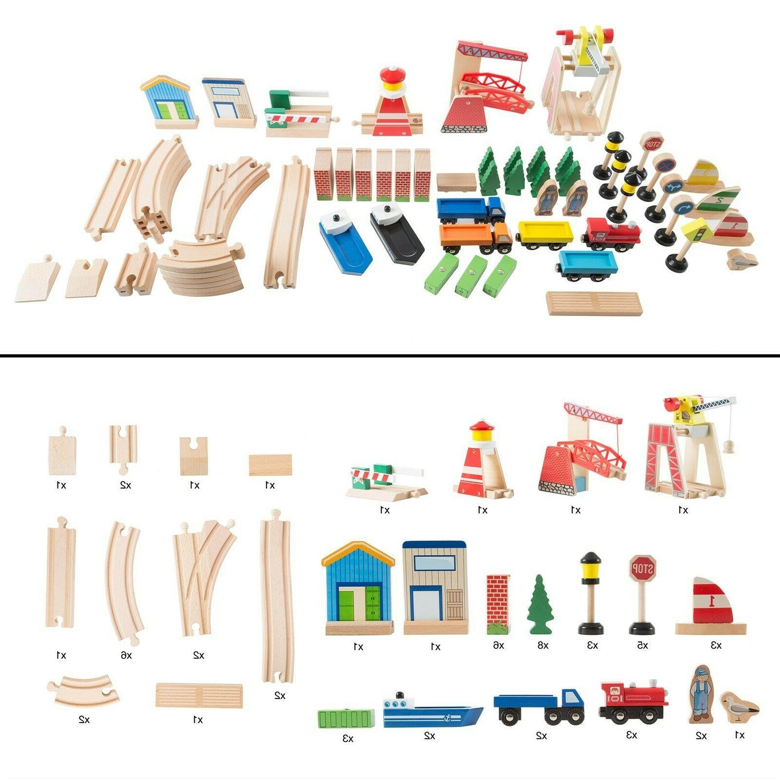 65 Play Wooden Train Accessories and Play 33 22