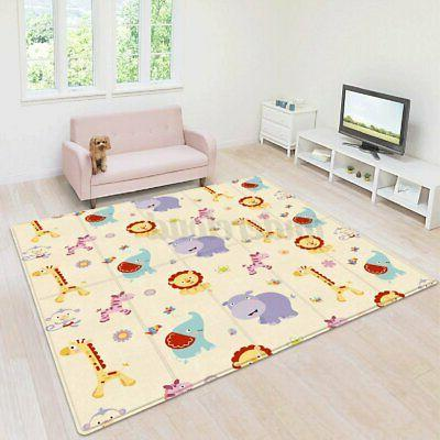 71 x39 double sided large baby crawling