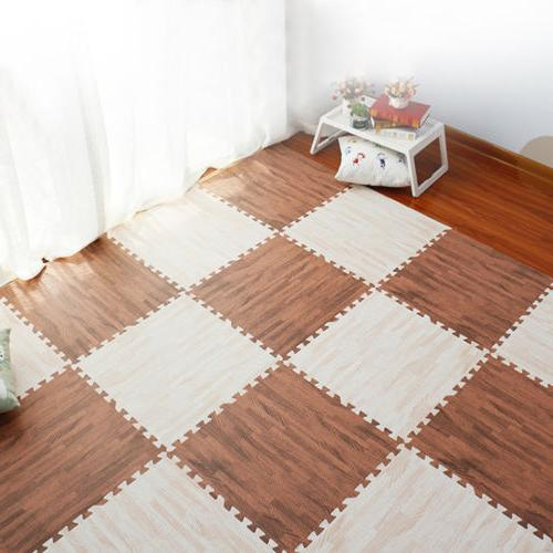 9x Baby Carpet Foam Soft Rug Activity Tile