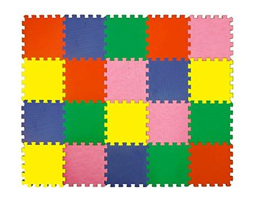 Angels XLarge Foam Mats Toy Colorful Multi Create & Build Safe PLay Puzzle eva for Kids Yard