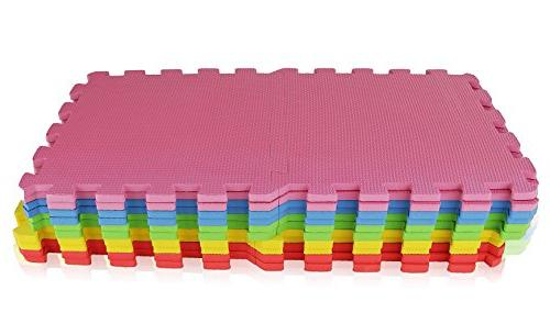 Angels Foam Mats Toy ideal Colorful Create Safe Puzzle eva for Toddler Kids & Yard