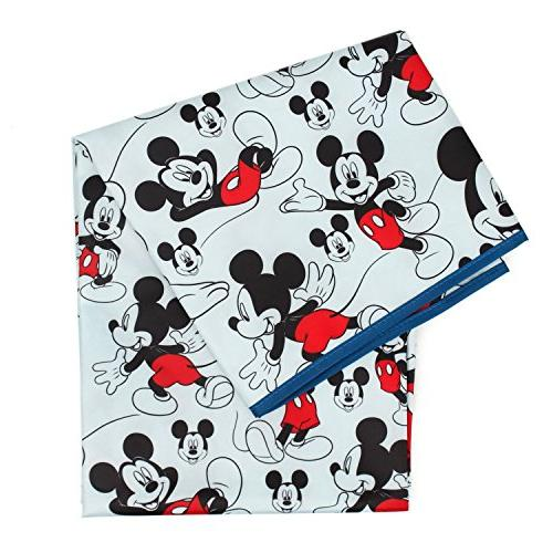 Bumkins Disney Mickey Mouse Splat Mat, Waterproof, Washable