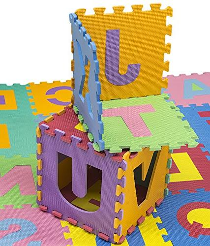 HemingWeigh Kids Puzzle Play Mat 26 and - Care's, Rooms, and