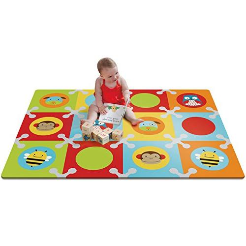 Skip and Toddler with Tiles, Multi Zoo