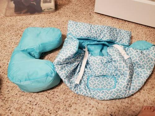 Summer Infant 2-in-1 Cushy Cart Cover and Seat Positioner, D