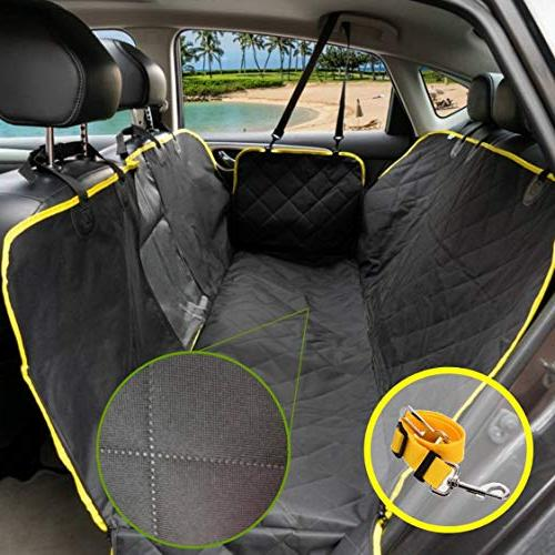 UMMER Dog Seat Cover Seat Protector Side Van Truck Nonslip Washable Seat Cover Rear