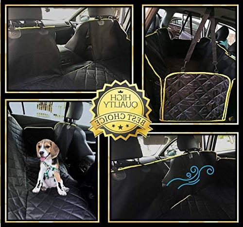 UMMER Dog Seat Cover Side Truck Suv Durable