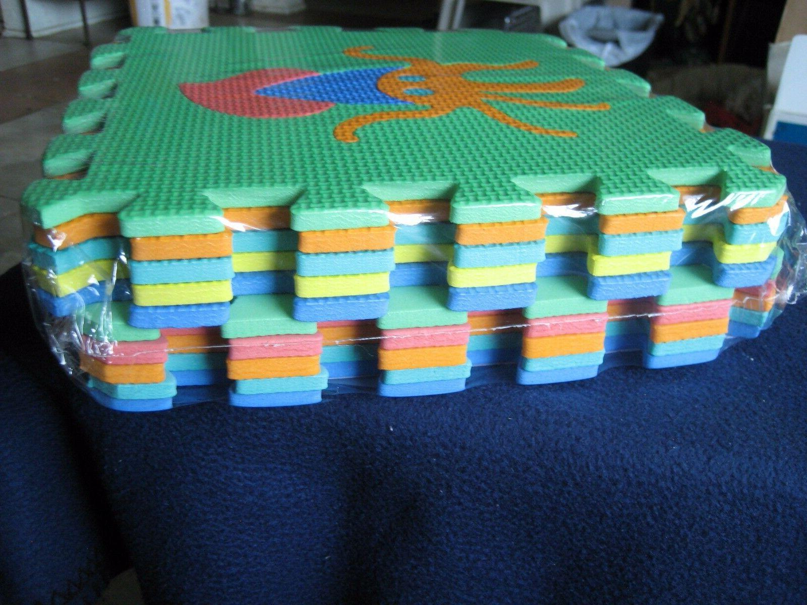 Activities Foam ~10 Square Play Non-Toxic