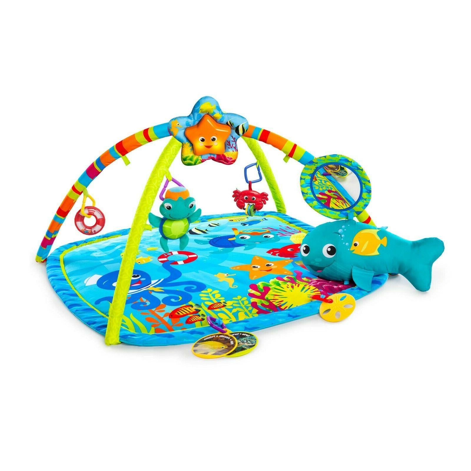 activity gym and play mat nautical friends