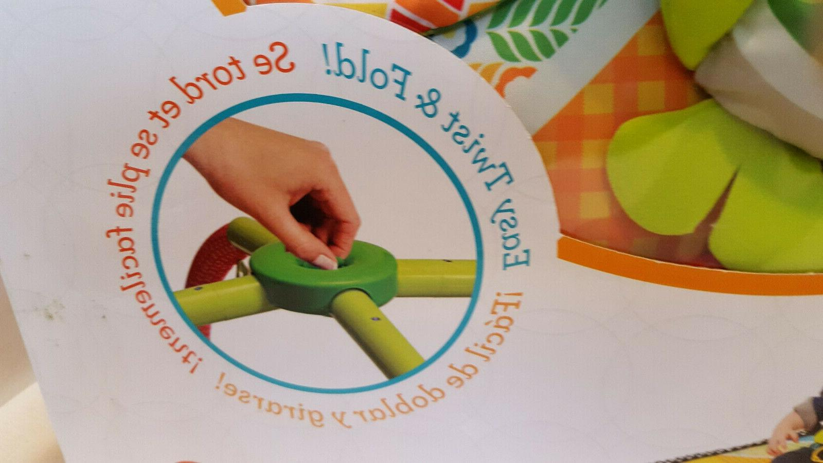 Infantino Gym And Play Mat Pals Easy Twist