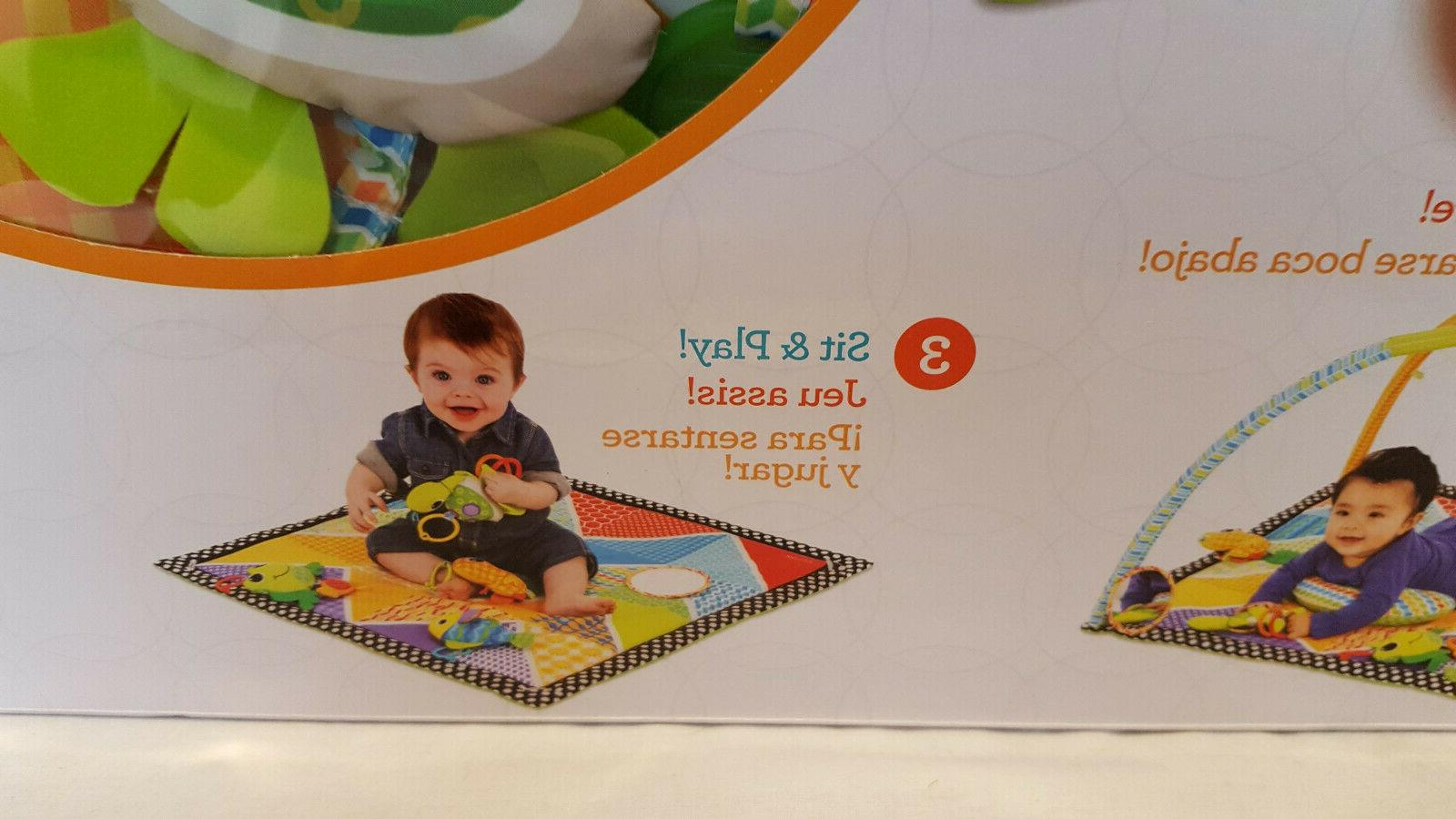 Infantino Activity Gym Play Mat Pals Easy Twist and Fold