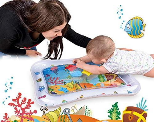 Adorable for Colorful & Water Mat   Leakproof PVC Water for & Stimulating Activity   Design