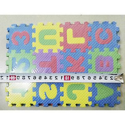 Alphabet Play Mat SOFT FOAM Puzzle & Numbers