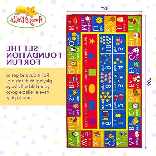 Alphabet and and Mat - and Classroom Runner Shapes and Designs - &
