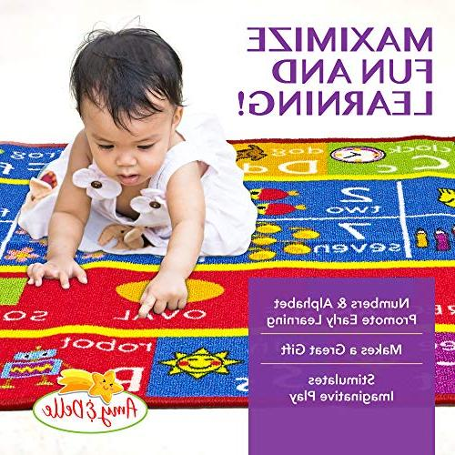 Alphabet and Play Rug – Educational - Nursery Classroom Shapes and Shape Designs - by &