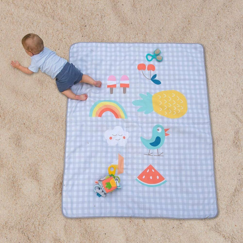 Baby Activity Mat Taf Toys Outdoors Soft Foldable Play Mat