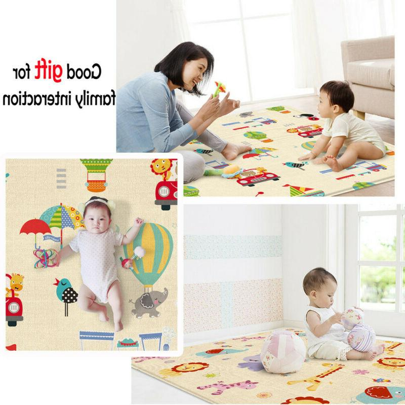 Cartoon Double-sided Crawling Mat Outdoor Mat