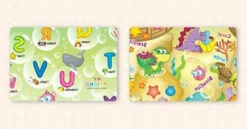 Baby Care Play Mat Foam Floor Gym - Non-Toxic Reversible