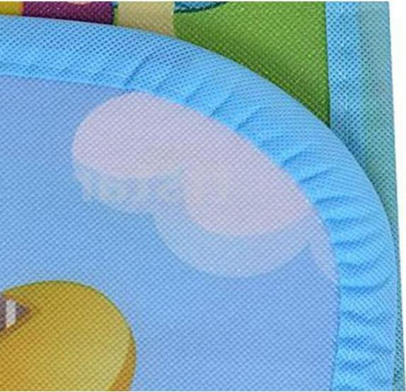 Baby Mat Non-Slip Waterproof Double Side Game Crawling Colored Carpet