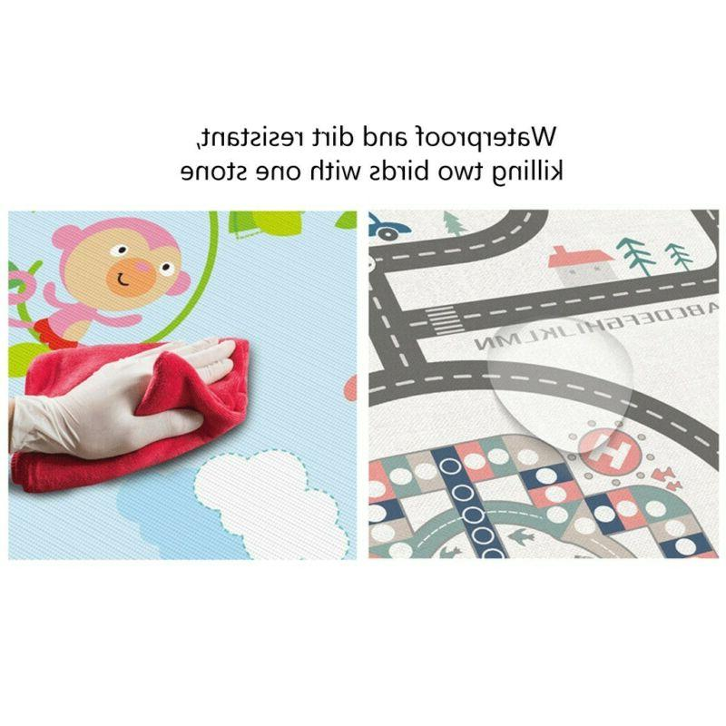 Baby Care Mat-Large Double Non-Slip Waterproof
