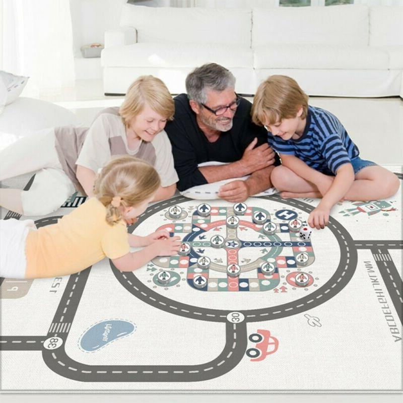 baby crawling care play mat large double