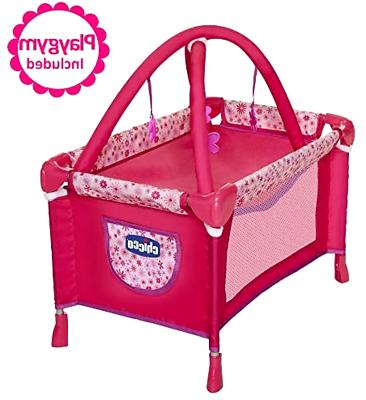 Baby Doll to Playpen Mobile Girls Toy