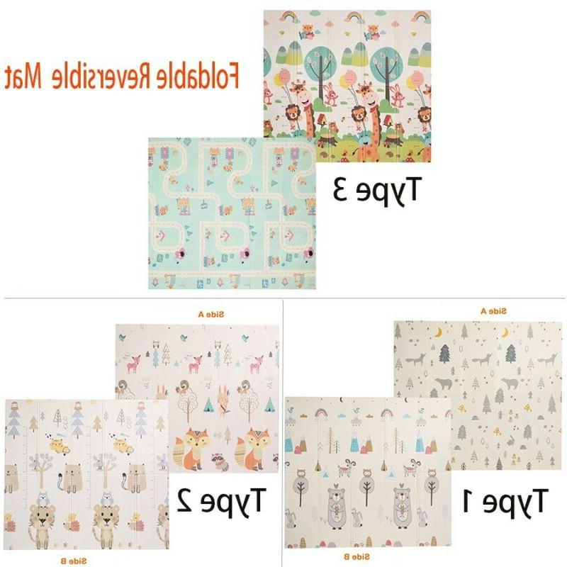 Baby Soft Reversible Mats For Child Toy