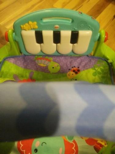 Baby Gym Mat Center Lullaby Kick Play Piano
