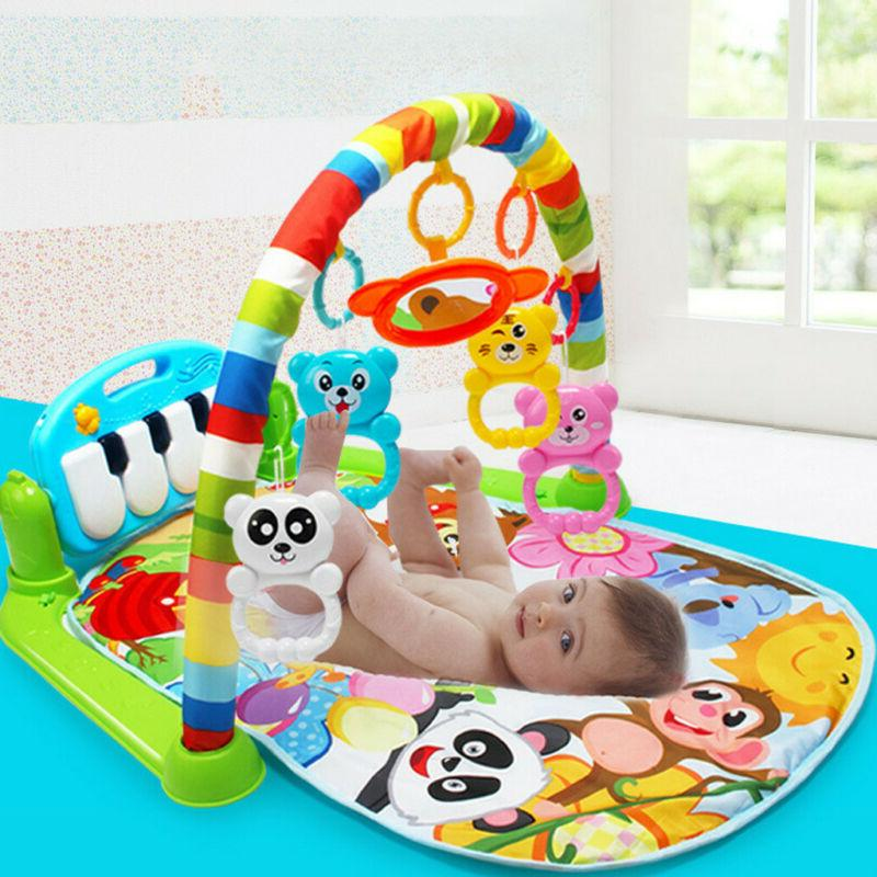 New Soft Baby Gym Activity Center Kick Play Piano Toy
