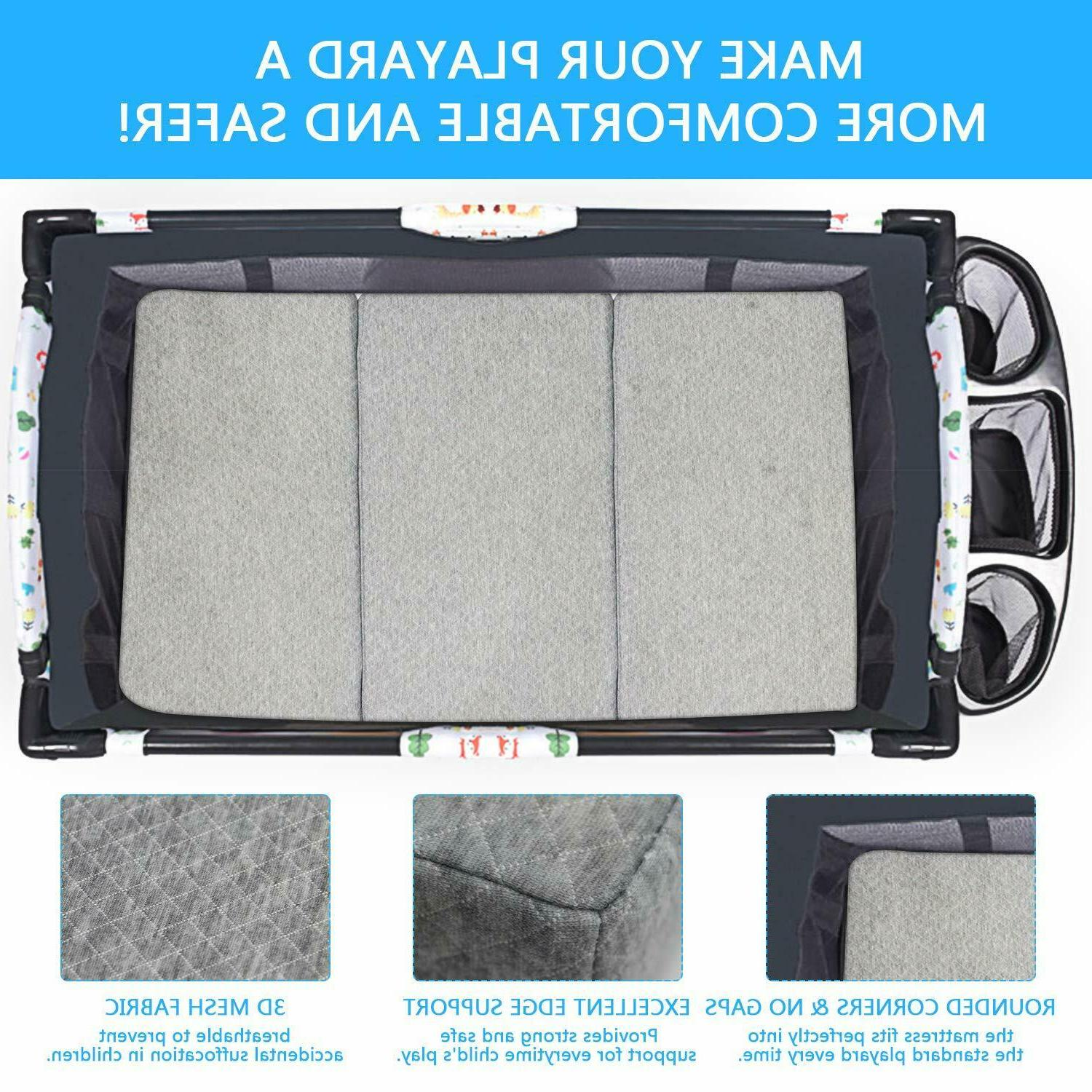 "Baby Infants Pack N' 26x38.5x1.8""Travel Portable"