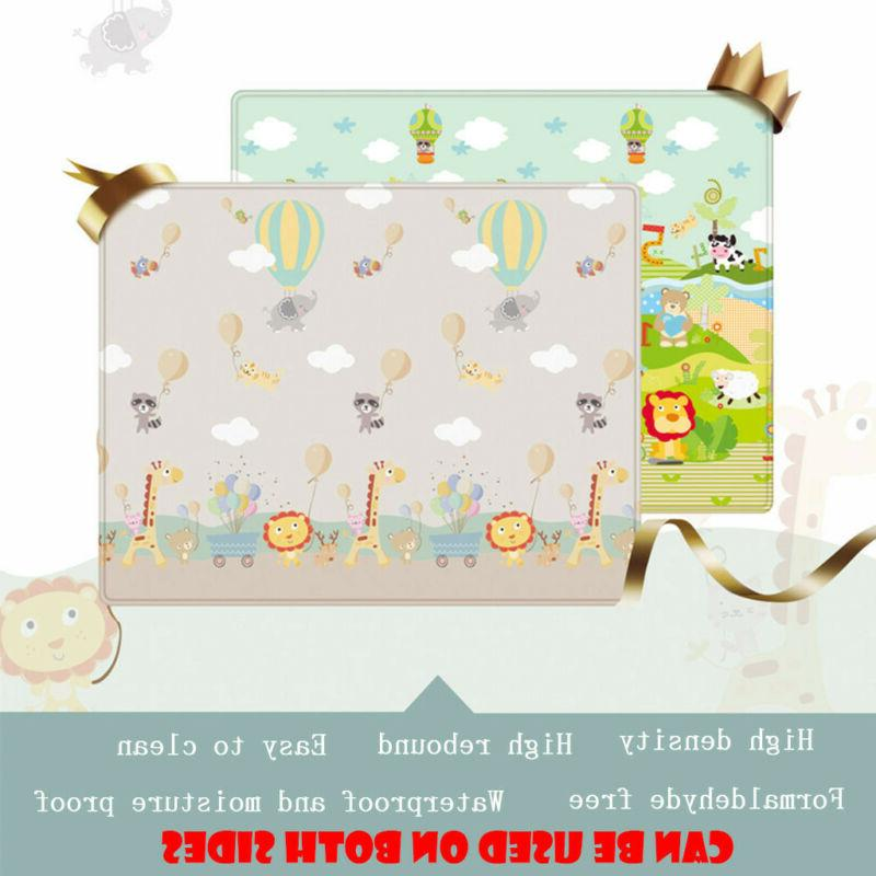 Baby Silk Floor Activity Toy Crawl Rug