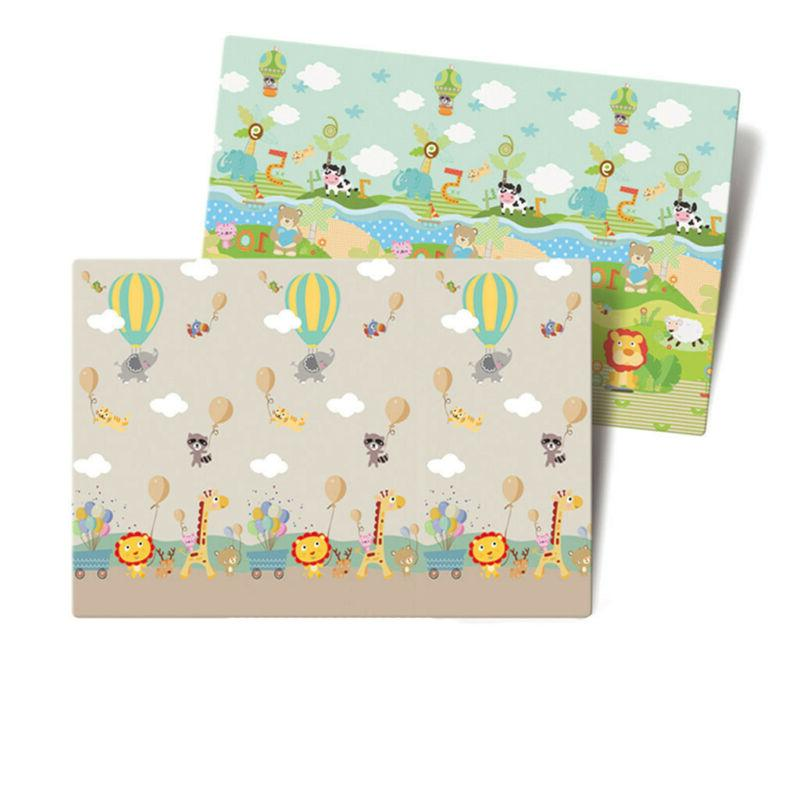 Thicken 1CM Baby Crawling Thick Mat Educational Alphabet USA