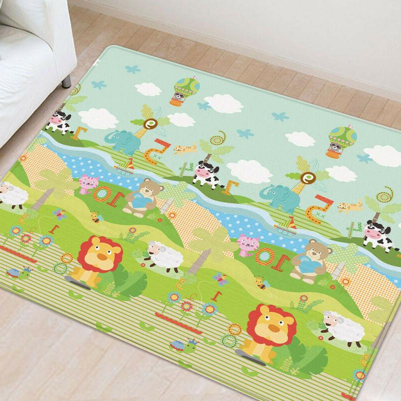 Baby Kids Silk LDPE Child Activity Crawl Rug Grace
