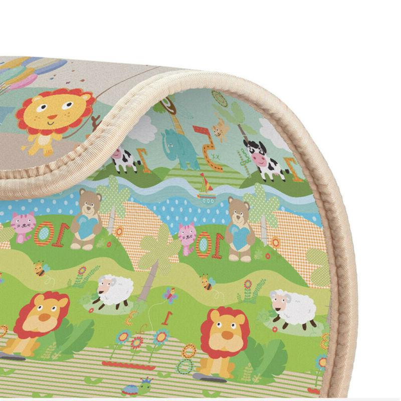 Thicken Baby Thick Mat Educational Game USA