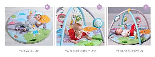 Taf Toys Gym | Soft Play Mat, Lightweight, Car Colorful Sounds, Detachable